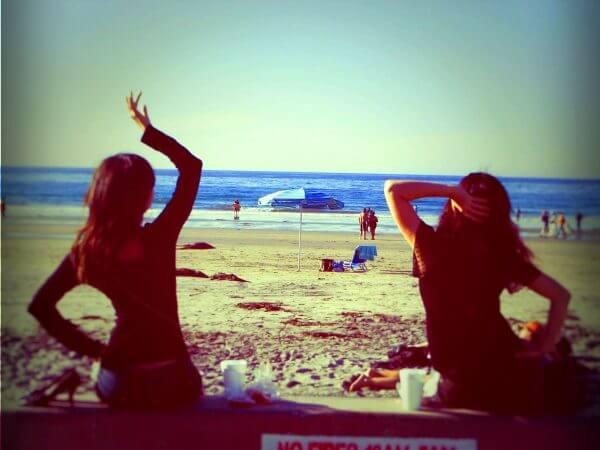 Friends beach