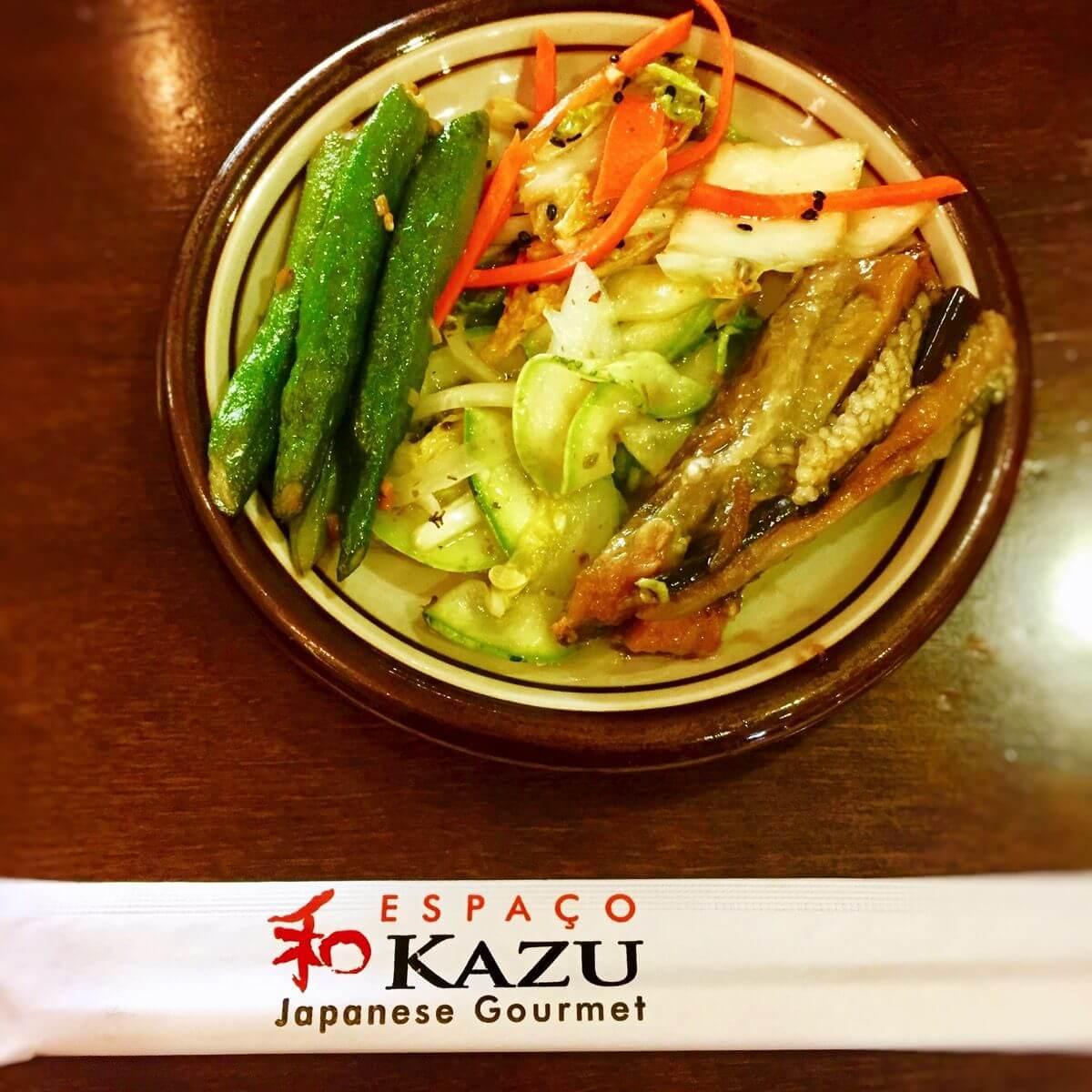 Kazu teishoku zensai