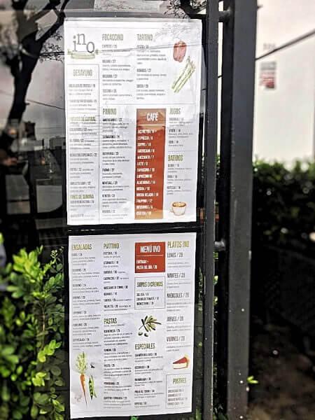 Ino menu