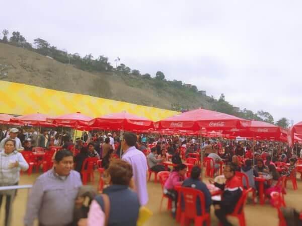 Mistura crowds