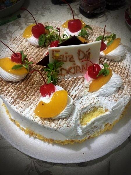 Fiesta torta despues
