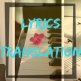 lyrics translation header